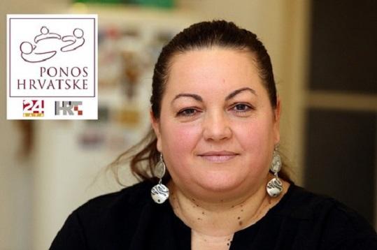 PONOS HRVATSKE  27.11.2015., Zagreb - Sanja Bijonda, osnivacica Portala dobrote koja je pokrenula akciju Da ni jedno dijete u Hrvatskoj ne bude gladno. Photo: Goran Stanzl/PIXSELL